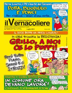 Copertina del Vernacoliere - Luglio 2014
